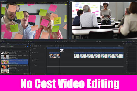 No Cost Video Editing